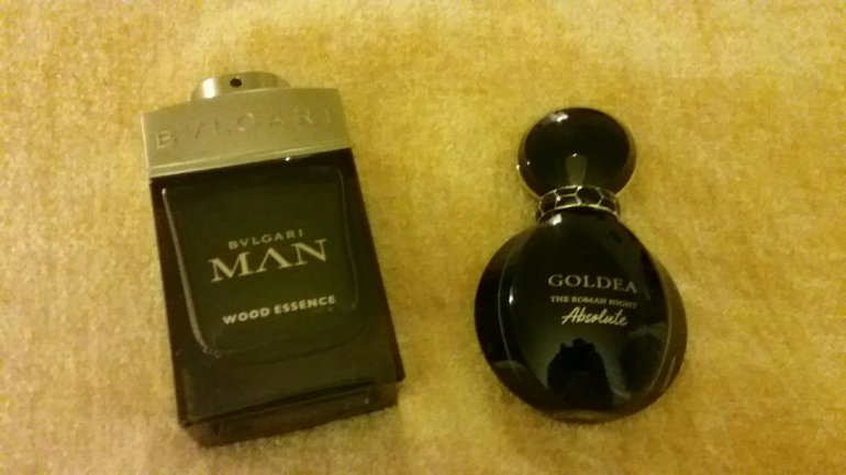bvlgari, bvlgari man, wood essence, goldea, roman night, absolute